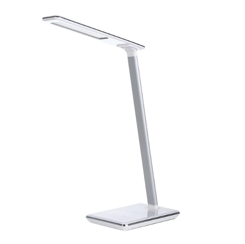 Concise Style Folding LED Desk Lamp with Wireless Modern USB Output Charger