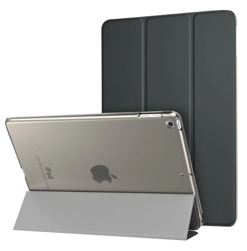 Ultra-thin Magnetic Case for iPad 9.7 2017 2018 New Model A1822/A1893 Smart PU Leather Cover With Auto Sleep Function