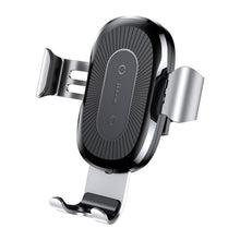 Load image into Gallery viewer, Baseus Car Mount Qi Wireless Charger For iPhone X 8 Plus