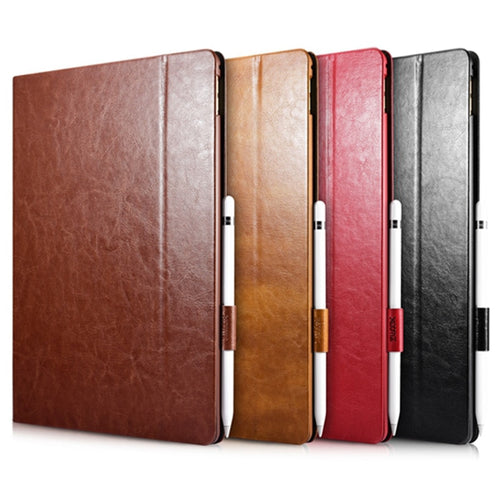Executive Tablet Leather Cover for Apple iPad Pro Case 12.9 With Stand Holster
