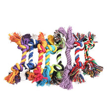 Load image into Gallery viewer, Colorful Braided Cotton Chew Toy