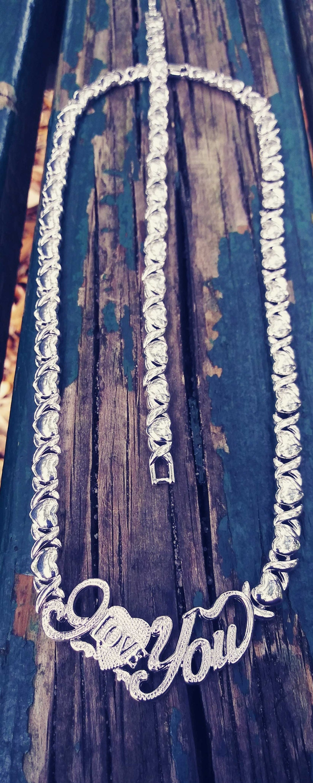 😍😍White Gold filled 💖📿necklace and bracelet