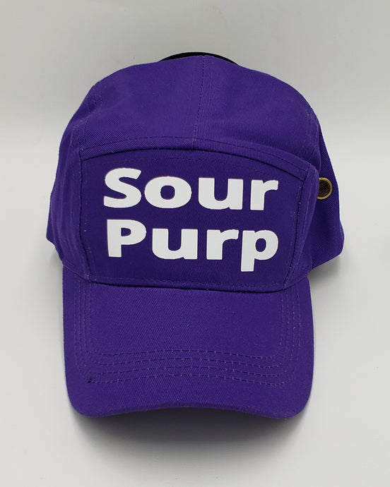 Sour Purp  custom hat
