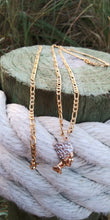 14k gold plated 3mm Egyptian head Figaro chain and bracelet set 24inches