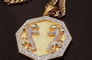 14k Gold plated pendant