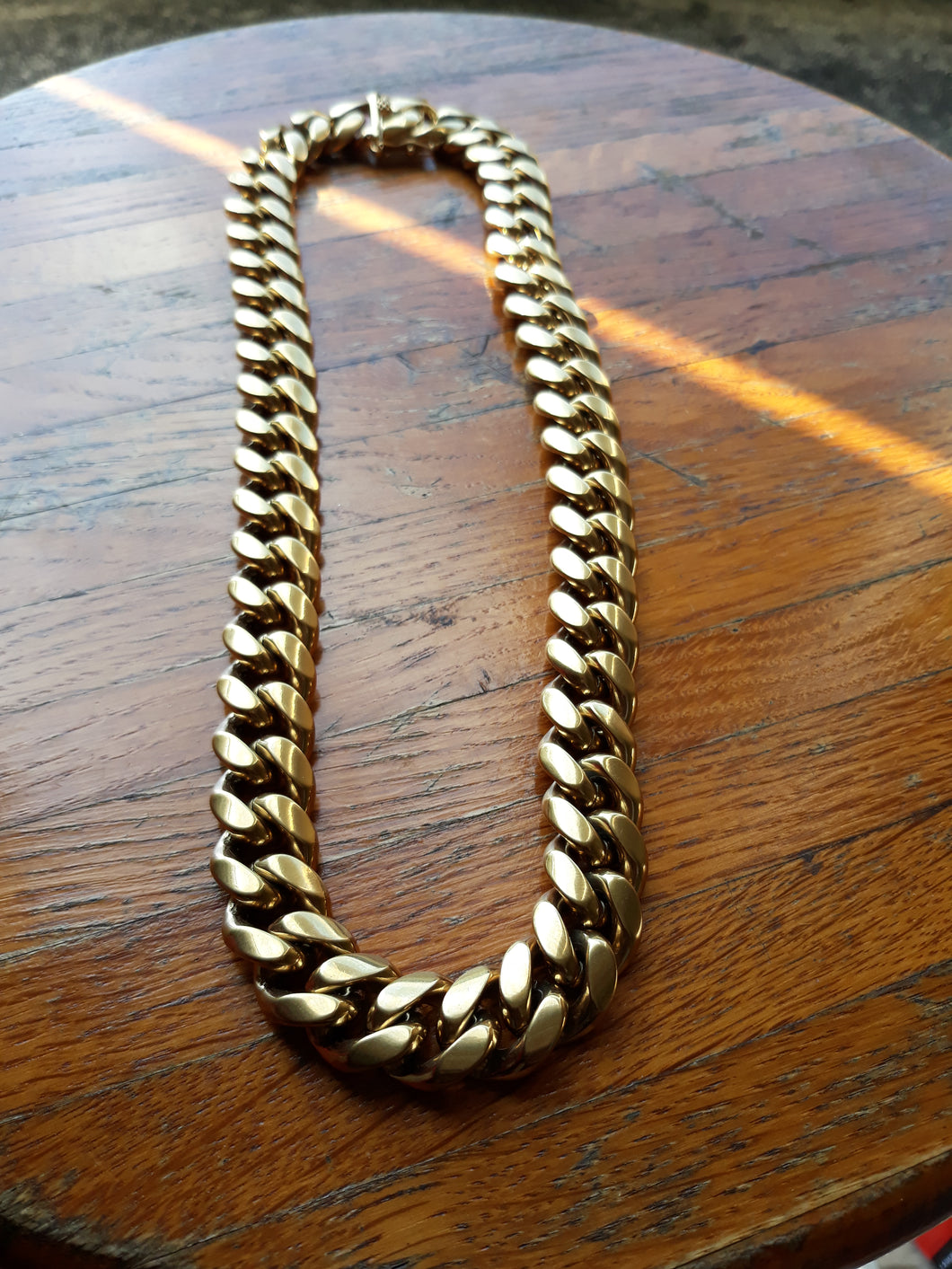 Big Boy 16mm 14k gold plated Miami Cuban link chain