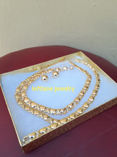 14k Gold Filled Womens 💖 X&o Hugs and Kisses Full xoxo Set Chain And Bracelet