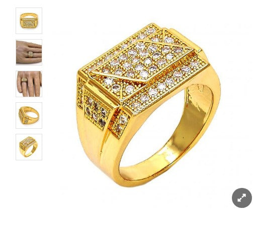 Gold filled Cz Diamond💎 Ring