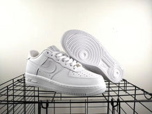Original All White Crispy  AF1s High and Low Top