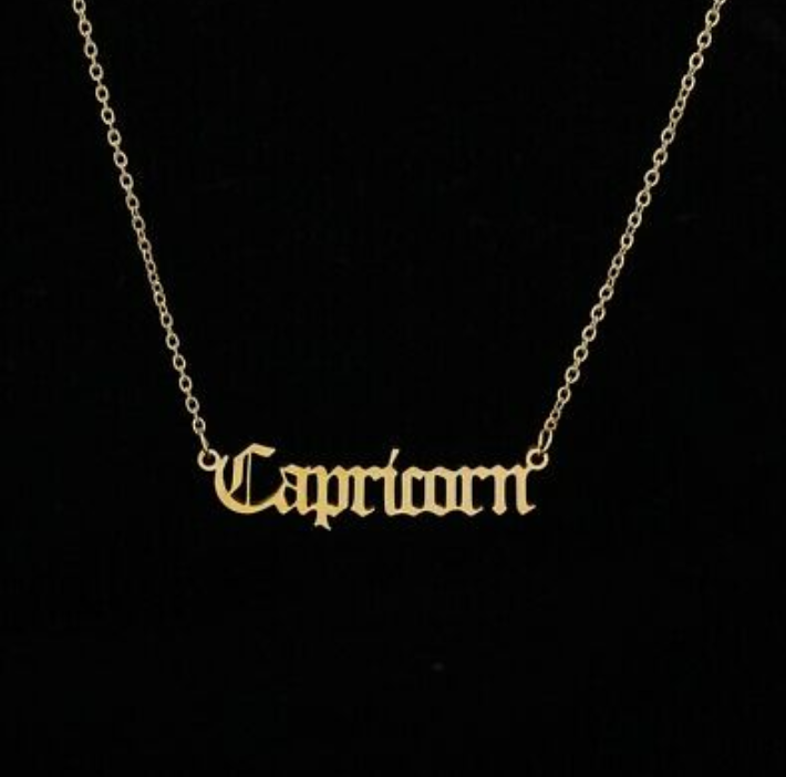 Gold Plated 1.5mm Capricorn Chain