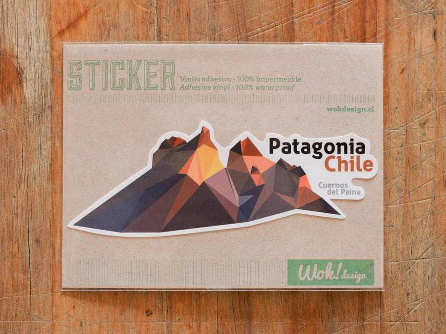 Sticker Cuernos del Paine