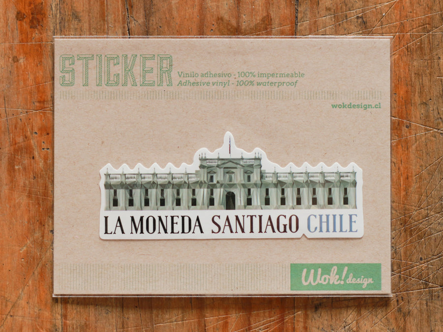 Sticker La Moneda