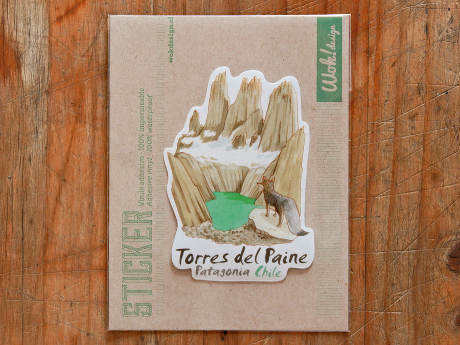 Sticker Torres del Paine