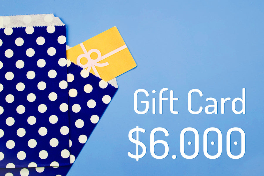 Gift Card $6.000
