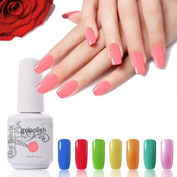 Hot sale 15ml Clou Beaute Choose 1 From 60 Colors Nails Gel UV Led Lam