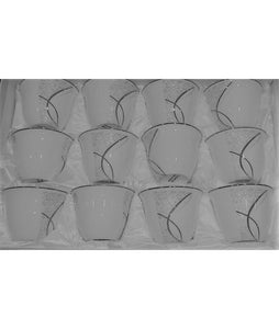 Coffee Cup Set (12 pieces)