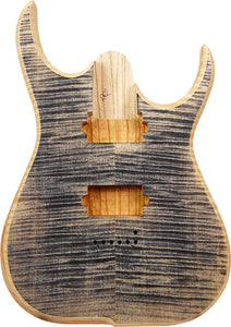 [新品]Skervesen Guitars Nebelung 6 Multi Scale 26-25 5A Flame Maple Carved Top【分割10回払いまで金利0%】