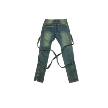 Load image into Gallery viewer, DENIM BONDAGE PANTS