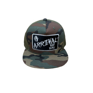 BAD BOYZ TRUCKER CAP (CAMO)