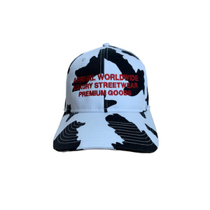 LUXURY LOGO CAP (WHITE CAMO)