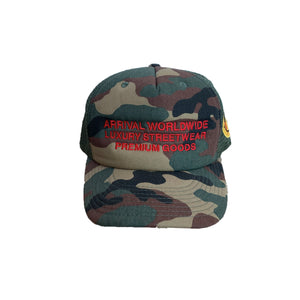 LUXURY LOGO TRUCKER CAP (CAMO)