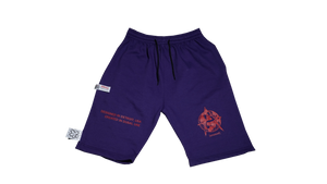 DETROIT TO DUBAI SHORTS (PURPLE)