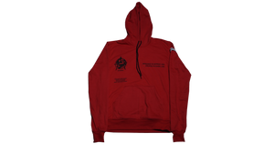 DETROIT TO DUBAI PULLOVER (RED)