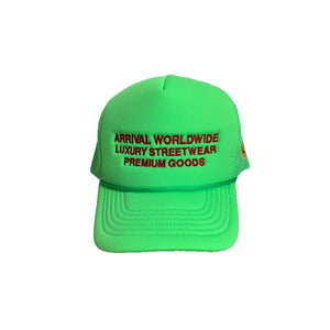 LUXURY LOGO TRUCKER CAP (GREEN)