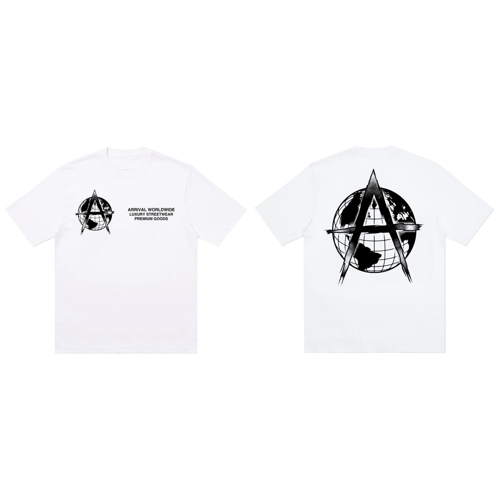 LUXURY LOGO TEE (WHITE)