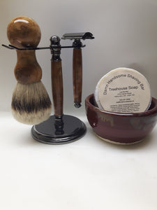 Men's Shave Box - Coolibah Burl