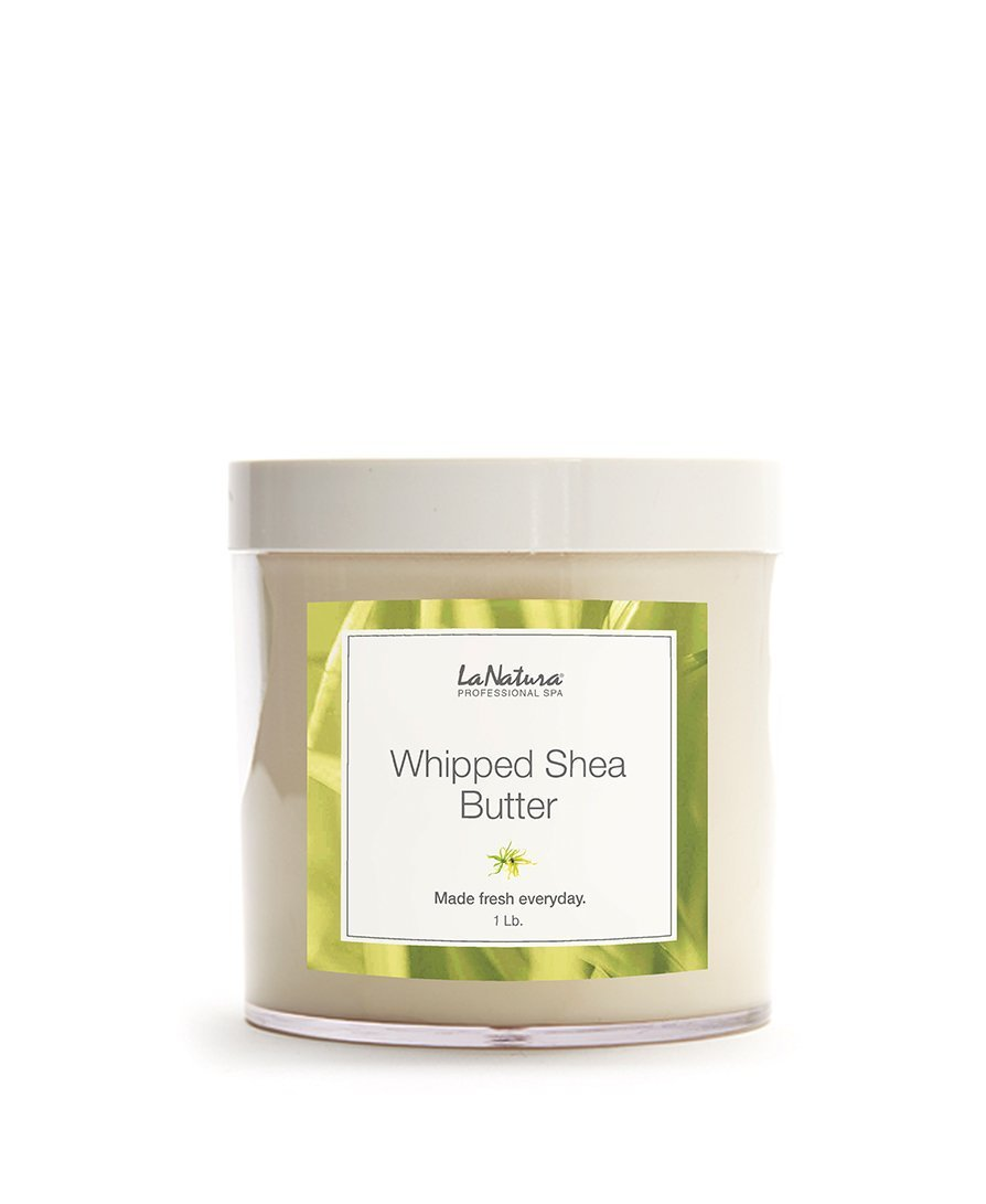 LaNatura Spa Natural Whipped Shea Butter Professional Massage Treatment