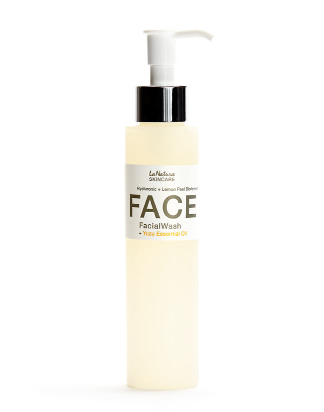 Professional Facial Wash | Hyaluronic + Lemon Peel