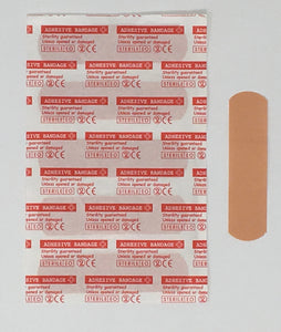 Quality and cheap latex-free adhesive bandages with adhesive insuring that these bandages stick well.