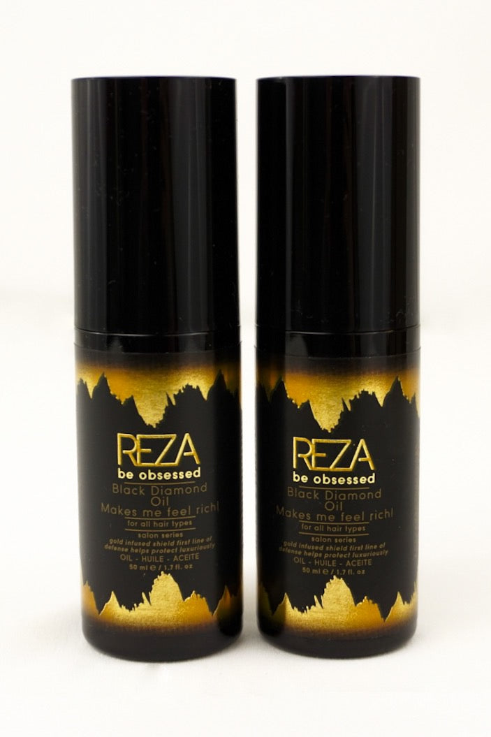 REZA Black Diamond Oil Duo (2x  1.7 Fl. Oz)