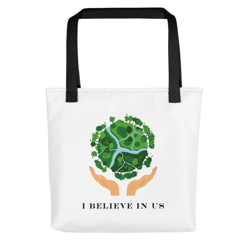Tote bag - I believe in us