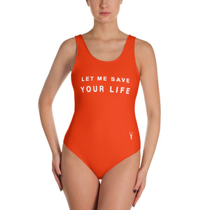 Swimsuit Let Me Save Your Life