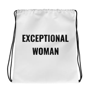 Drawstring bag - Exceptional Women