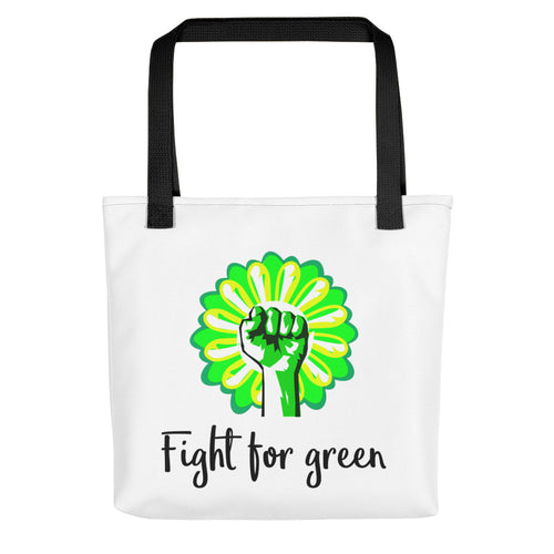 Tote bag - Fight for green