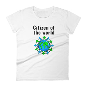 Women's Premium fit t-shirt - Citizen of the world