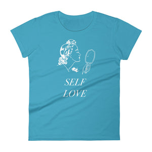 Women's Premium fit t-shirt - Self Love