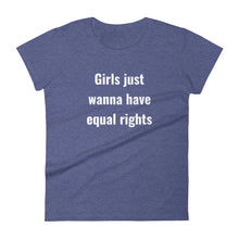 Women's Premium fit t-shirt - Equal rights
