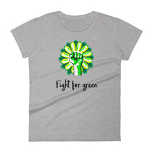 Women's Premium fit t-shirt - Fight for Green