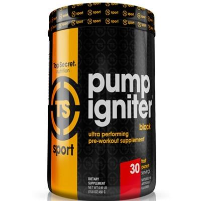 Top Secret Nutrition Pump Igniter Black - SupplementsMax