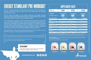 Metabolic Nutrition E.S.P  New Formula - SupplementsMax