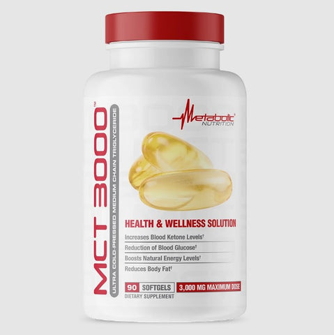 Metabolic Nutrition Mct 3000 - Befit Supplements