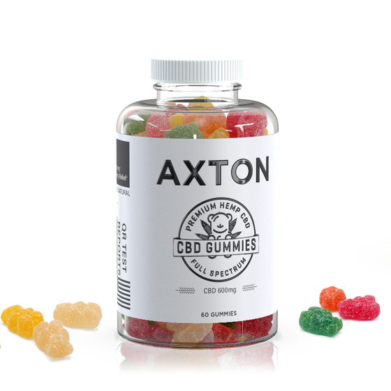 Axton CBD Gummies 600 mg