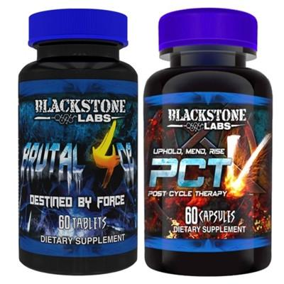 Blackstone Labs Brutal 4ce & PCT V - SupplementsMax