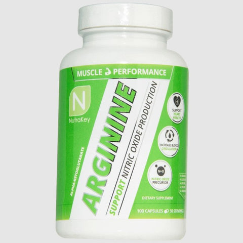 NutraKey Arginine - Befit Supplements