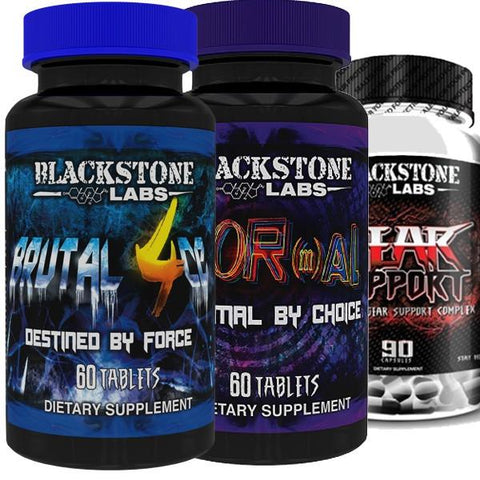 Blackstone Labs Brutal 4ce & Abnormal & Gear Support - SupplementsMax