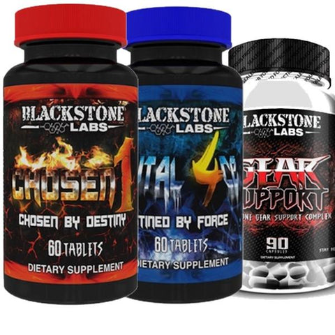 Blackstone Labs Chosen 1 & Brutal 4ce & Gear Support - Befit Supplements